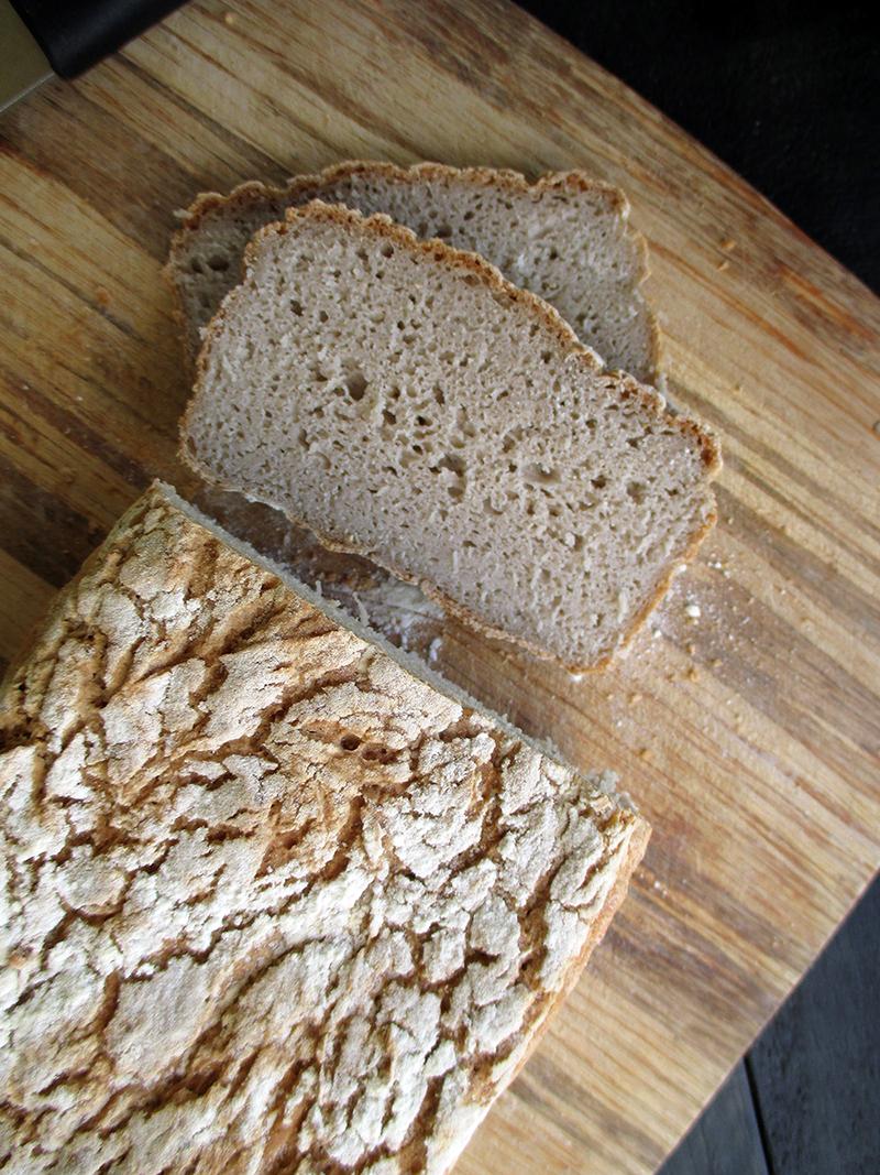 Veganes Glutenfreies Super Einfaches Buchweizen Brot Rezept 2 1