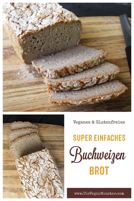 Veganes Glutenfreies Super Einfaches Buchweizen Brot Rezept 2