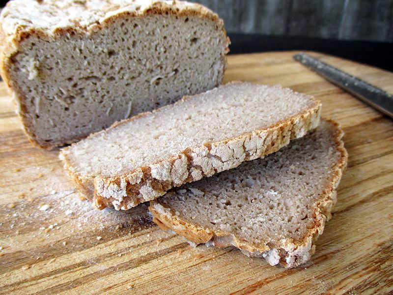 Veganes Glutenfreies Super Einfaches Buchweizen Brot Rezept 4