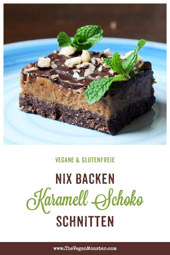 Nix Backen Vegane Glutenfreie Karamell Schnitten Ohne Kristallzucker Rezept 1