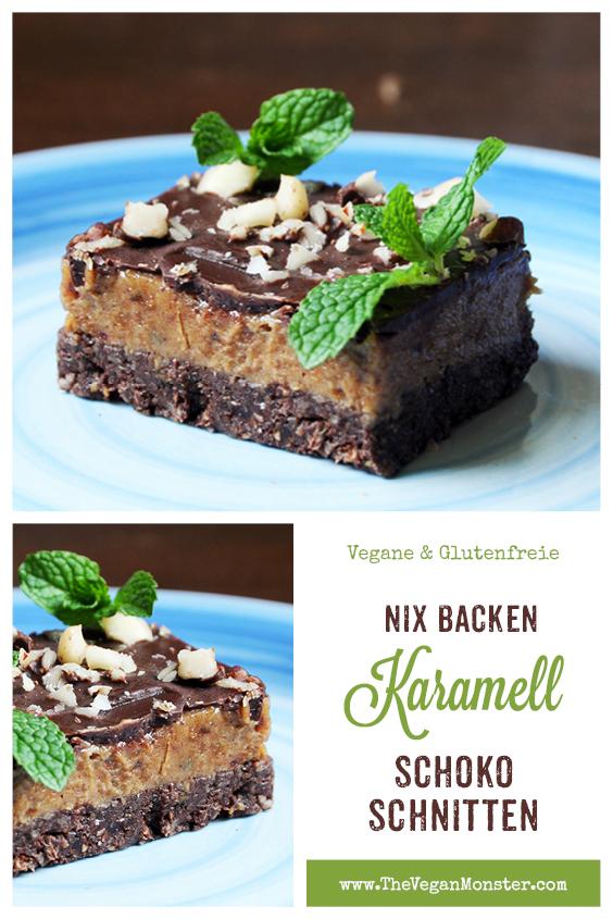 Nix Backen Vegane Glutenfreie Karamell Schnitten Ohne Kristallzucker Rezept 2