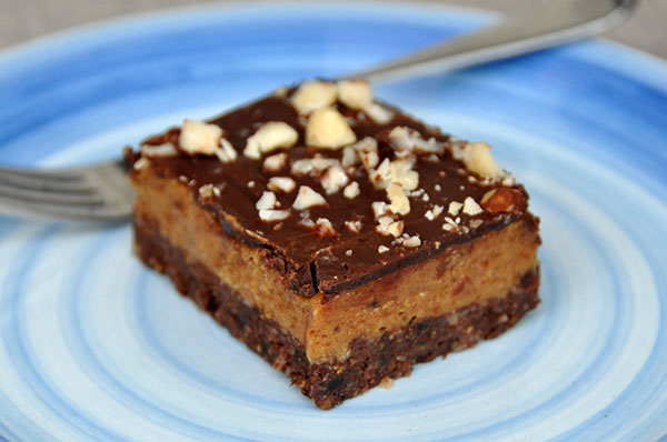 Nix-Backen Vegane Glutenfreie Karamell Schnitten Rezept