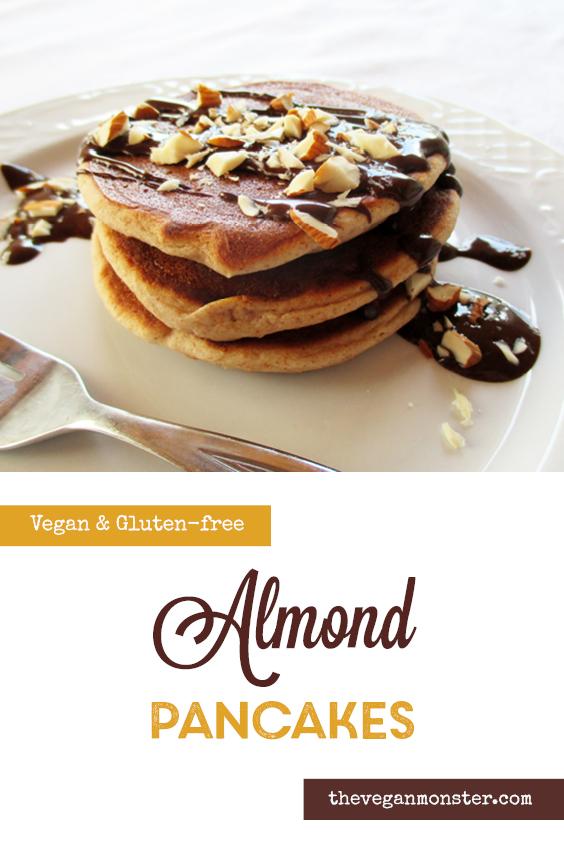 Vegan Gluten free Mini Almond Pancakes Recipe 3