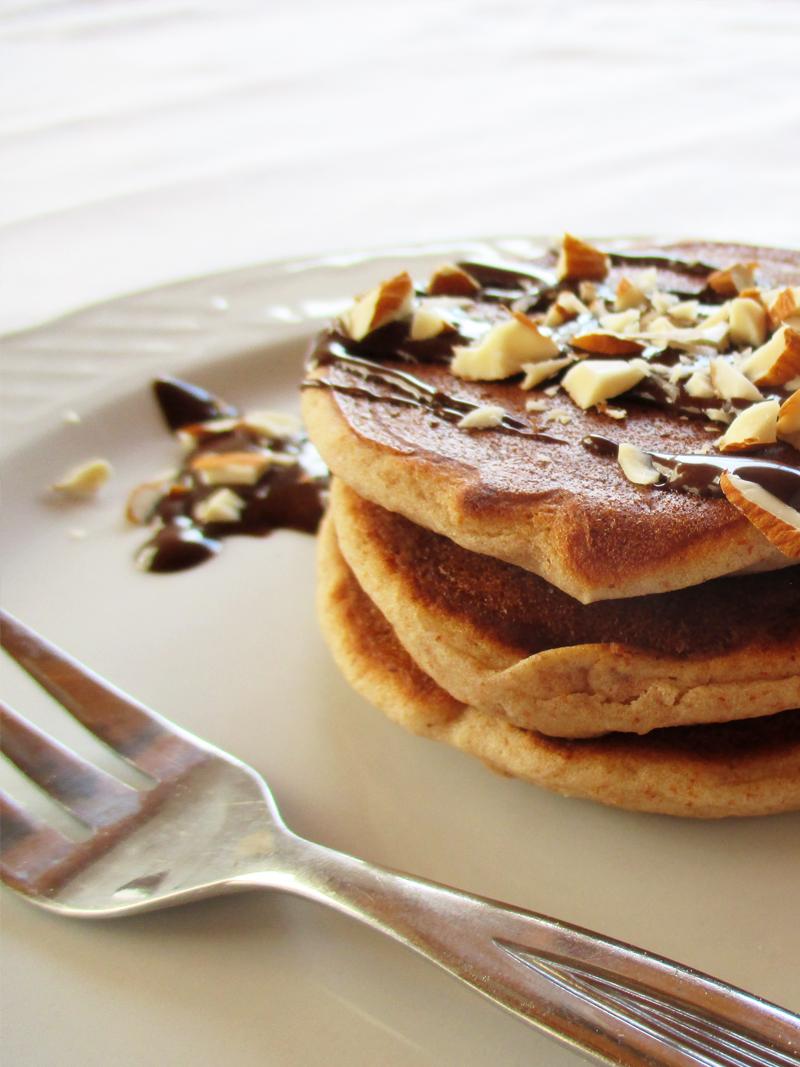 Vegan Gluten free Mini Almond Pancakes Recipe 05