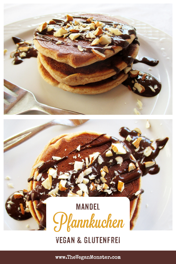 Vegane Glutenfreie Mini Mandel Pfannkuchen Rezept 1