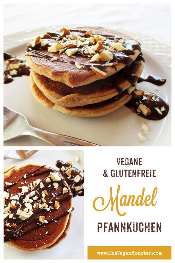 Vegane Glutenfreie Mini Mandel Pfannkuchen Rezept 2