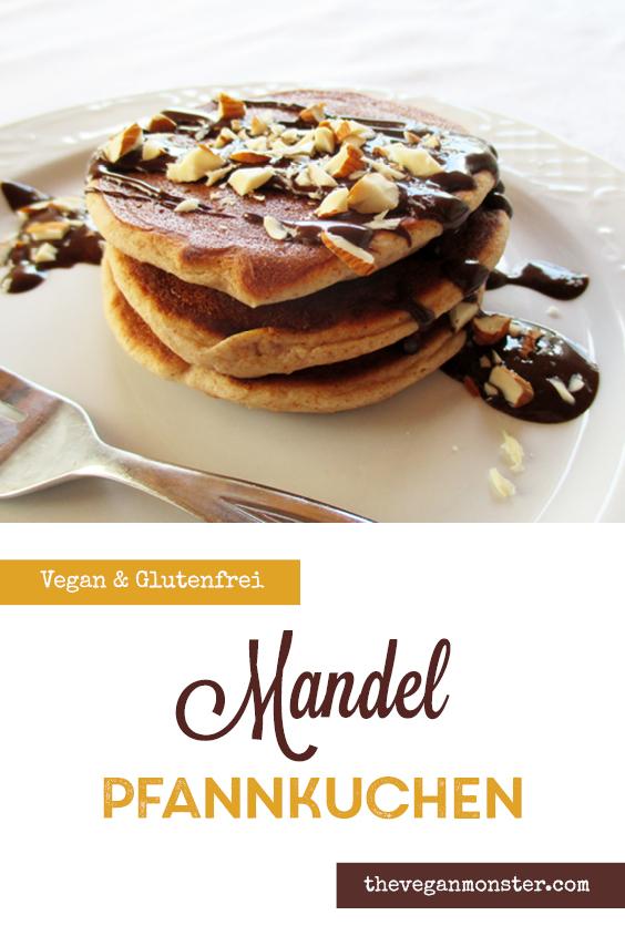Vegane Glutenfreie Mini Mandel Pfannkuchen Rezept 3