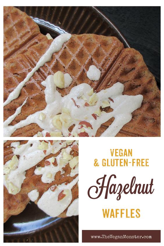 Vegan Gluten free Hazelnut Waffles Recipe P2