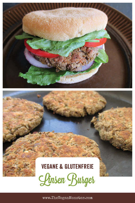 Einfache Vegane Glutenfreie Linsen Bratlinge Ohne Soja Rezept 1