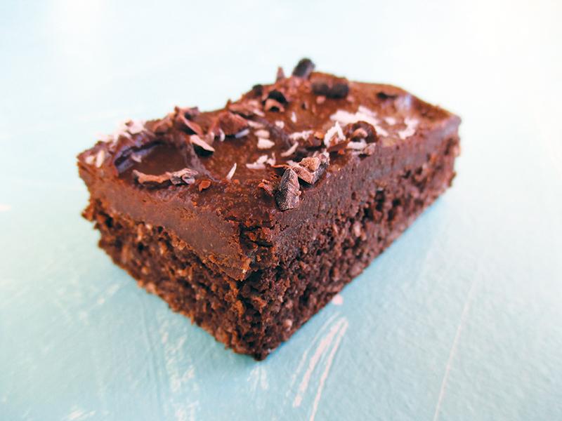 Vegan Glutenfree Coconut Chocolate Cake Slice Recipe Without Refined Sugar No Added Oil 7