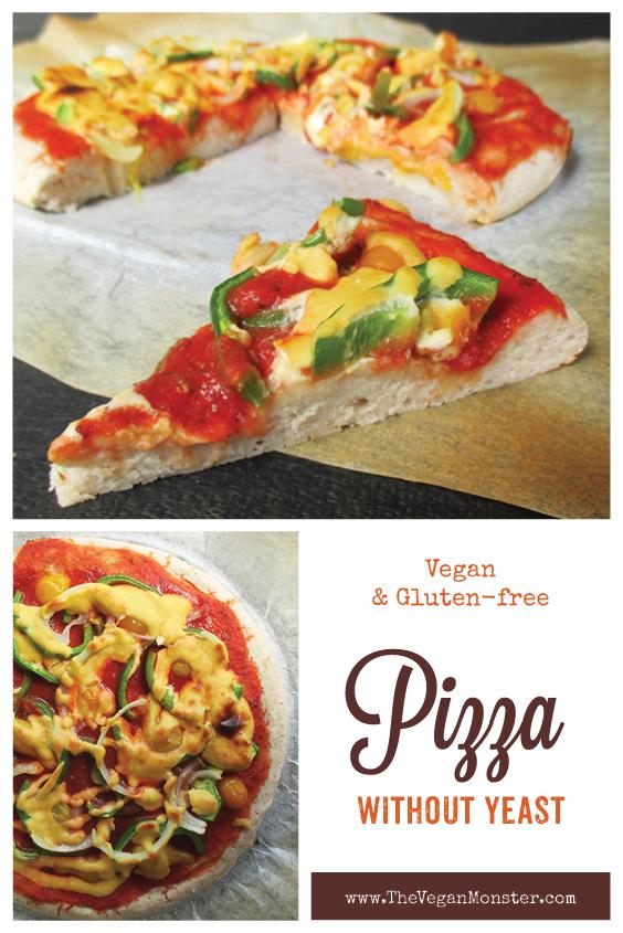 Vegan Glutenfree Pizza Without Yeast Recipe P2