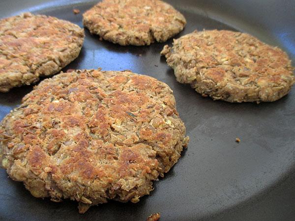 Vegane Glutenfreie Linsen Bratlinge Rezept