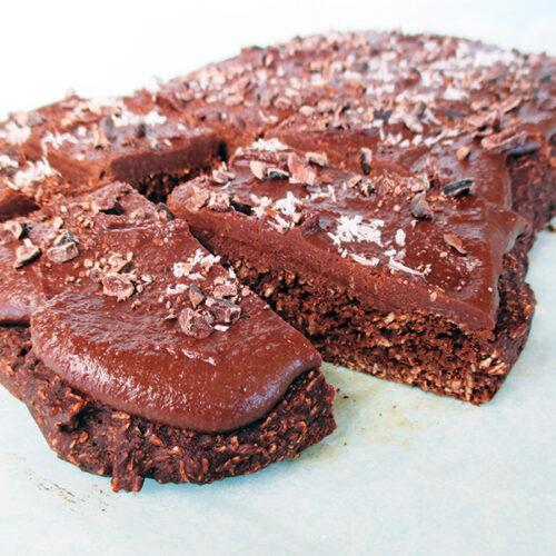 Vegane Glutenfreie Schoko Kokos Kuchen Schnitten Ohne Kristallzucker Ohne Oel Rezept 4 1