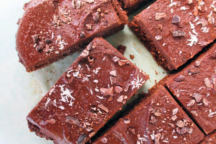 Vegane Glutenfreie Schoko Kokos Kuchen Schnitten Ohne Kristallzucker Ohne Oel Rezept 5 1