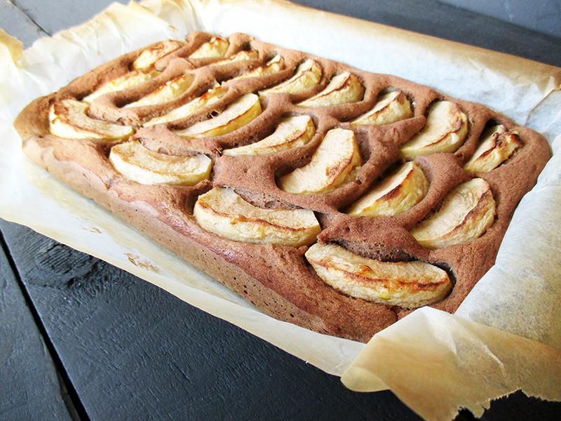 Veganer Glutenfreier Nuss Milch Mehl Apfel Zimt Kuchen Rezept 2 1