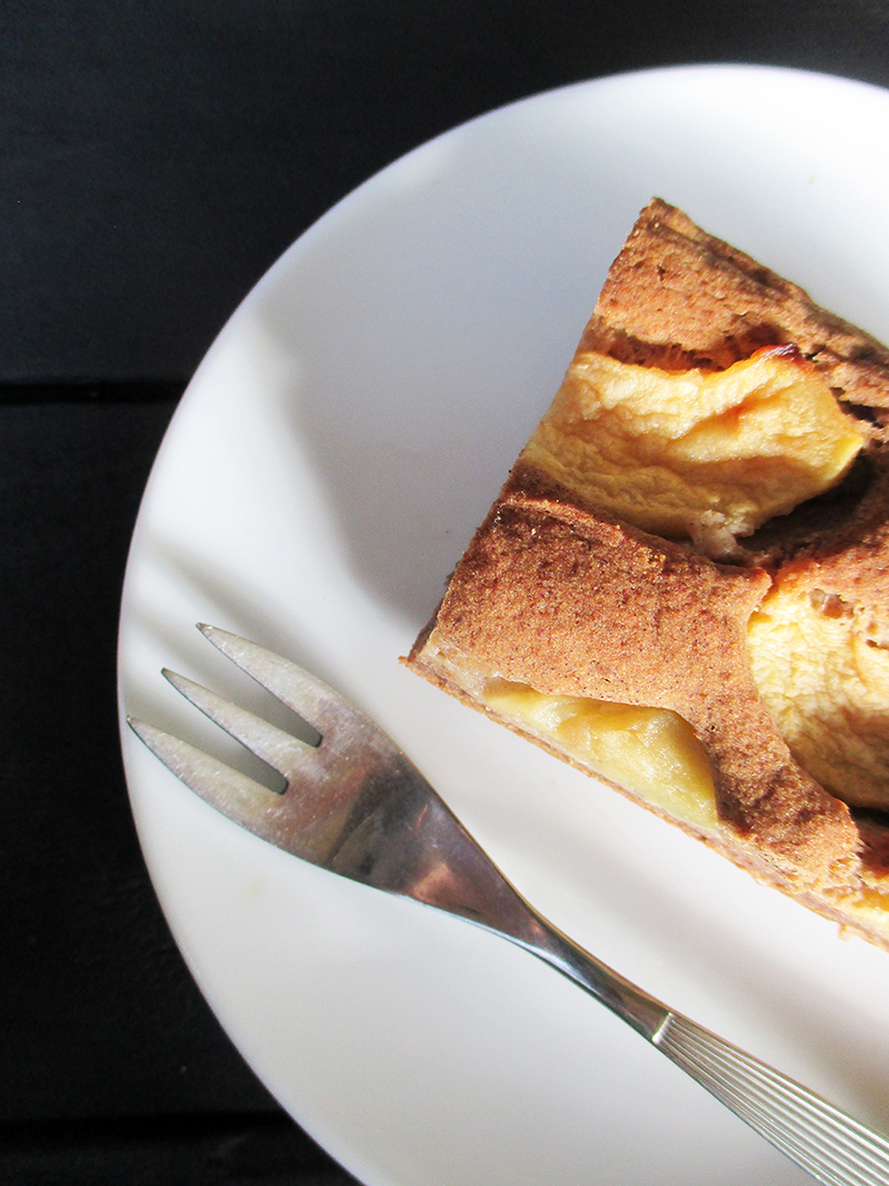 Veganer Glutenfreier Nuss Milch Mehl Apfel Zimt Kuchen Rezept 4