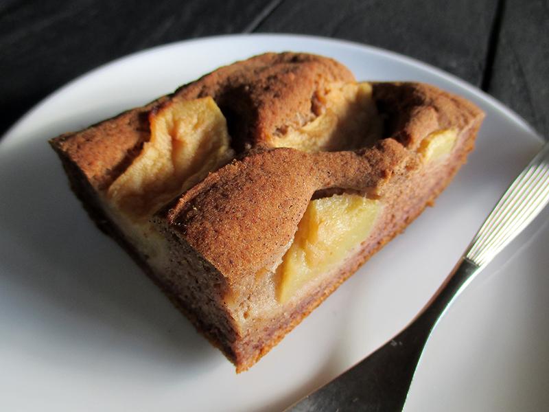 Veganer Glutenfreier Nuss Milch Mehl Apfel Zimt Kuchen Rezept 5