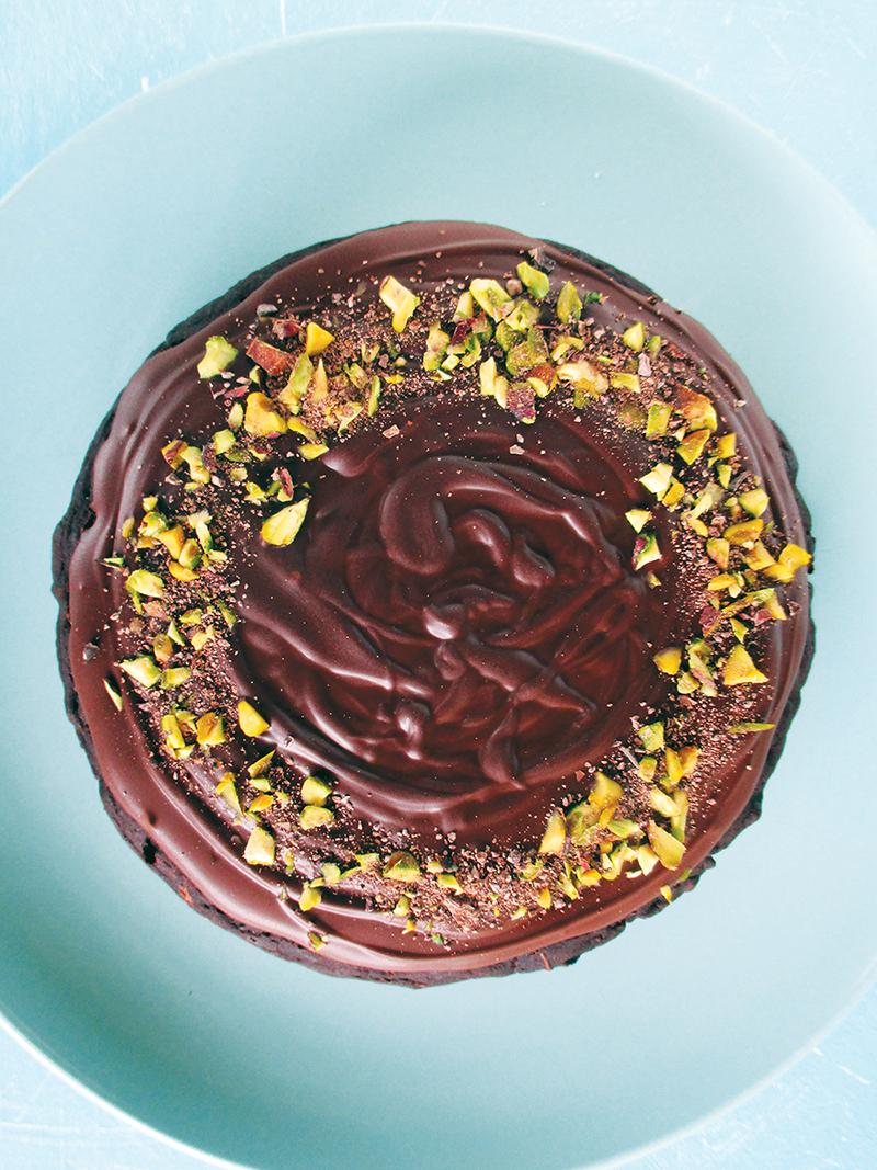 Veganer Glutenfreier Zucchini Schokoladen Kuchen Rezept Ohne Oel Ohne Milch 1