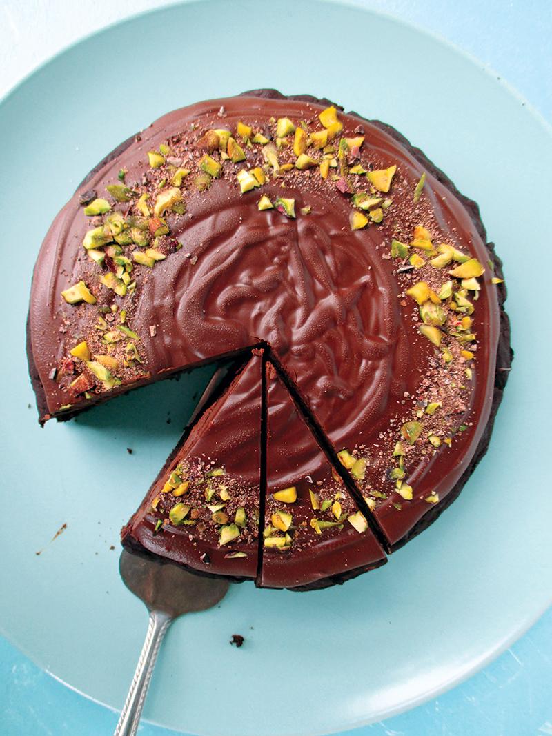 Veganer Glutenfreier Zucchini Schokoladen Kuchen Rezept Ohne Oel Ohne Milch 2