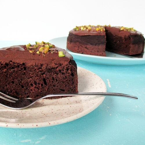 Veganer Glutenfreier Zucchini Schokoladen Kuchen Rezept Ohne Oel Ohne Milch 3 1