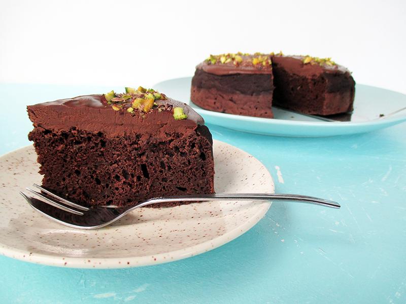 Veganer Glutenfreier Zucchini Schokoladen Kuchen Rezept Ohne Oel Ohne Milch 3