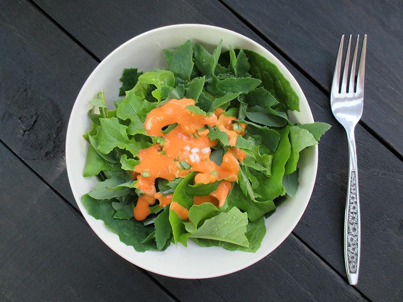 Vegan Gluten free Easy Oil free Capsicum Vege Salad Dressing Recipe 3