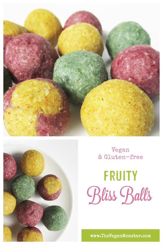 Vegan Glutenfree Refined Sugar Free Fruity Blissballs Recipe P2