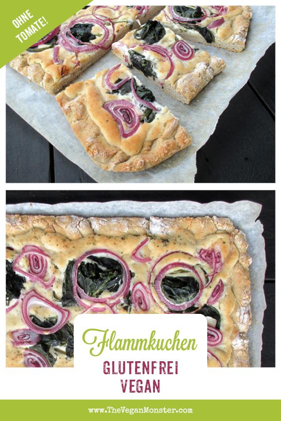 Vegane Glutenfreie Pizza Flammkuchen Ohne Tomate Rezept 1 1