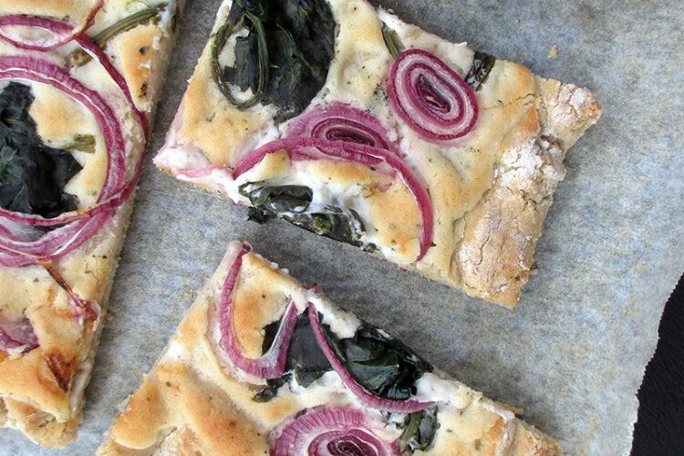 Vegane Glutenfreie Pizza Flammkuchen Ohne Tomate Rezept 2 1 1