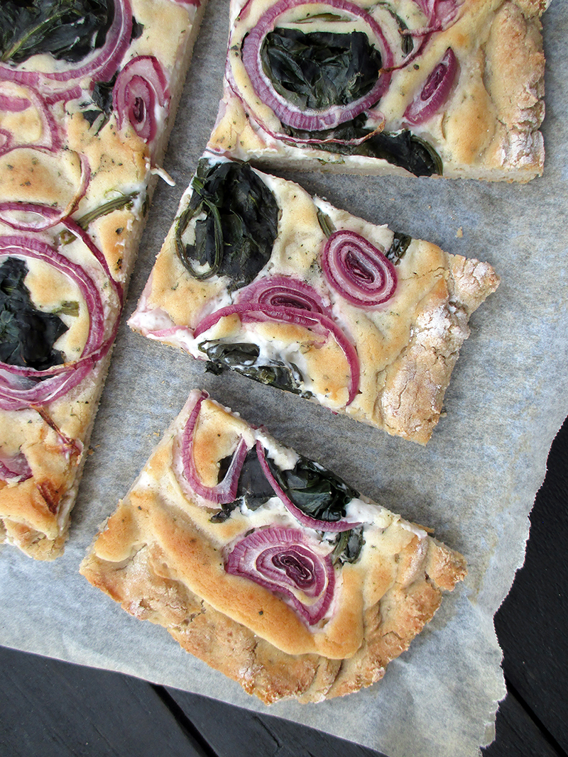 Vegane Glutenfreie Pizza Flammkuchen Ohne Tomate Rezept 2 1