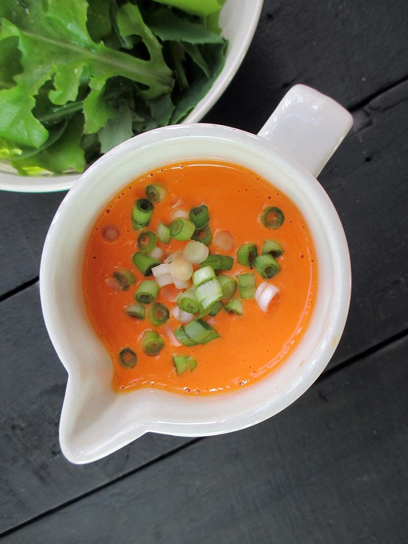 Super Einfaches Paprika Salat Dressing (Vegan, Glutenfrei, Ohne Öl)