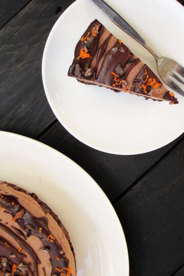 Vegane Glutenfreie Nix Backen Haselnuss Orangen Schokoladen Torte Ohne Kristallzucker Rezept 7 1