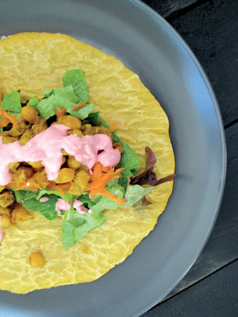Vegane Glutenfreie Kuerbis Wraps Ohne Soja Ohne Oel Rezept 1 2