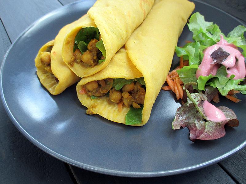 Vegane Glutenfreie Kuerbis Wraps Ohne Soja Ohne Oel Rezept 2 2
