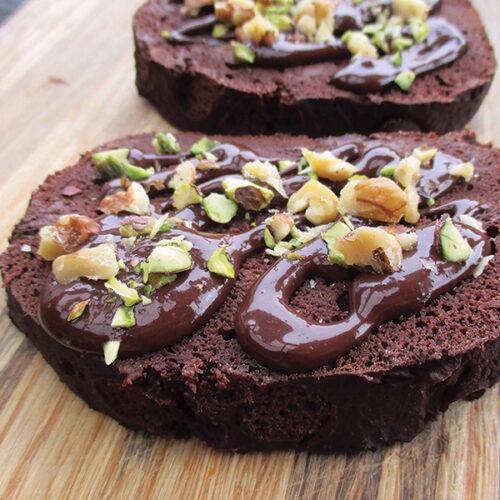 Veganes Glutenfreies Schokoladen Bananen Brot Ohne Oel Ohne Soja Rezept 01 1