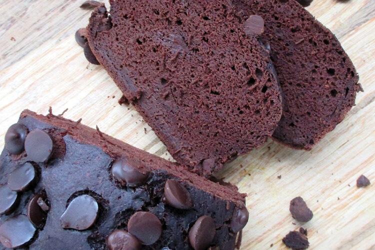Veganes Glutenfreies Schokoladen Bananen Brot Ohne Oel Ohne Soja Rezept 02 1
