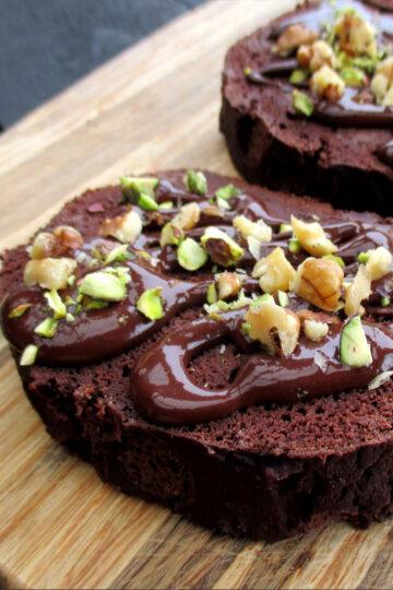 Veganes Glutenfreies Schokoladen Bananen Brot Ohne Oel Ohne Soja Rezept