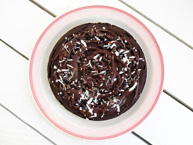 Vegan Gluten free No Bake Avocado Chocolate Mousse Cake Without Nuts Recipe 3 1