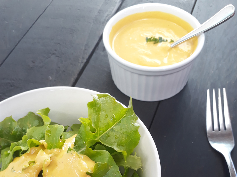 Vegan Gluten free Raw Ginger Carrot Salad Dressing Without Oil Recipe 3