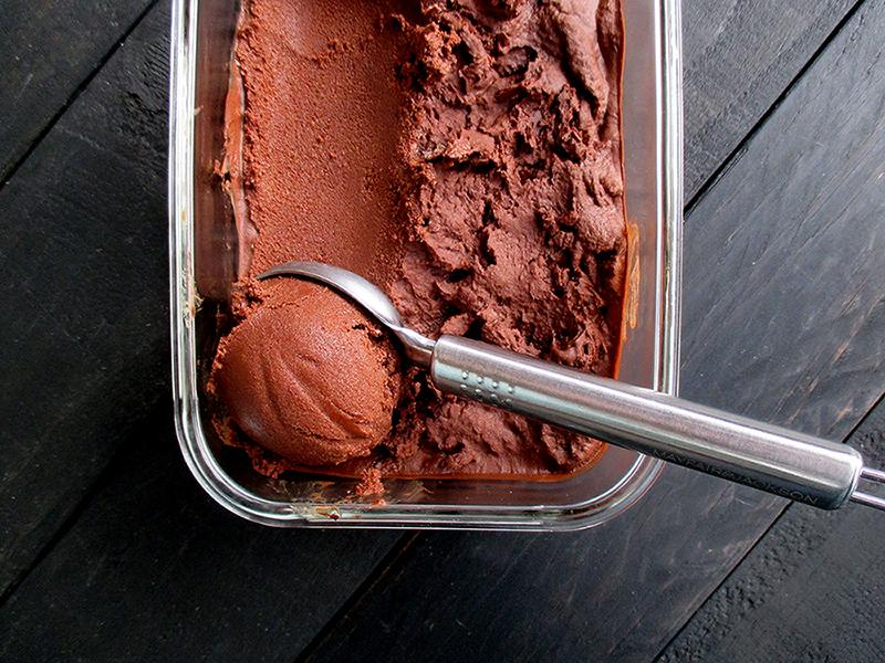 Vegane Glutenfreie Avocado Schoko Eiscreme Rezept Ohne Kristallzucker