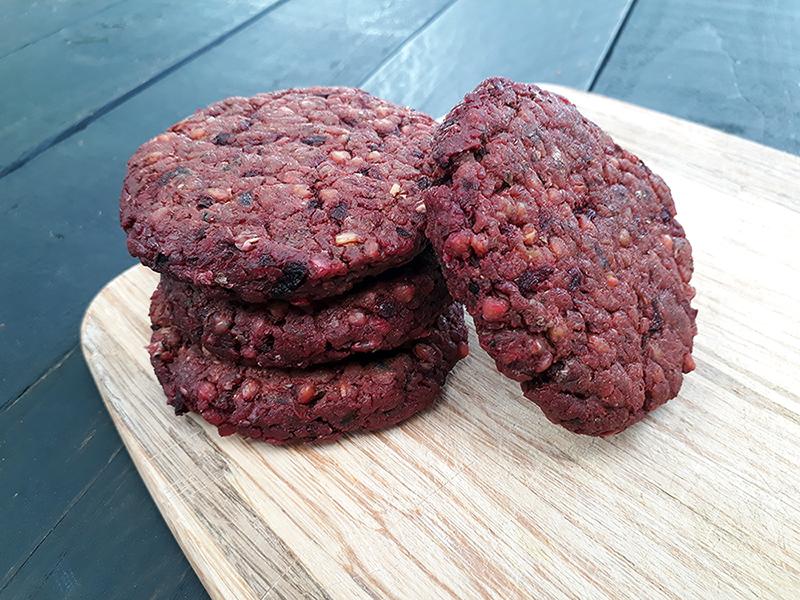 Vegane Glutenfreie Buchweizen Rote Beete Burger Bratlinge Rezept Ohne Oel Ohne Soja