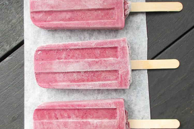 Vegane Glutenfreie Pflaumen Bananen Eis Am Stiel Ohne Kristallzucker Rezept 3 1