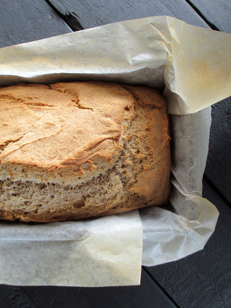 Easy Vegan Gluten free Banana Loaf Without Refined Sugar Oil free Recipe 4