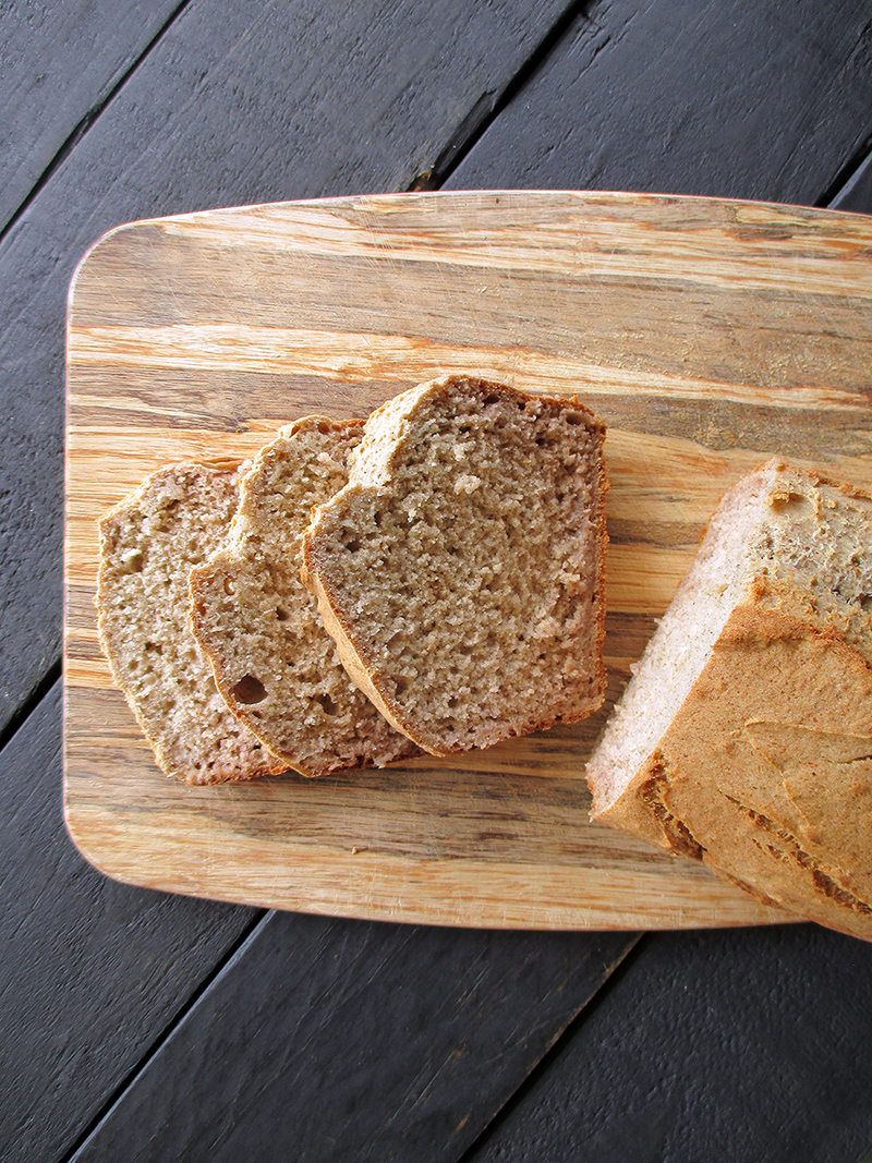 Easy Vegan Gluten free Banana Loaf Without Refined Sugar Oil free Recipe 5