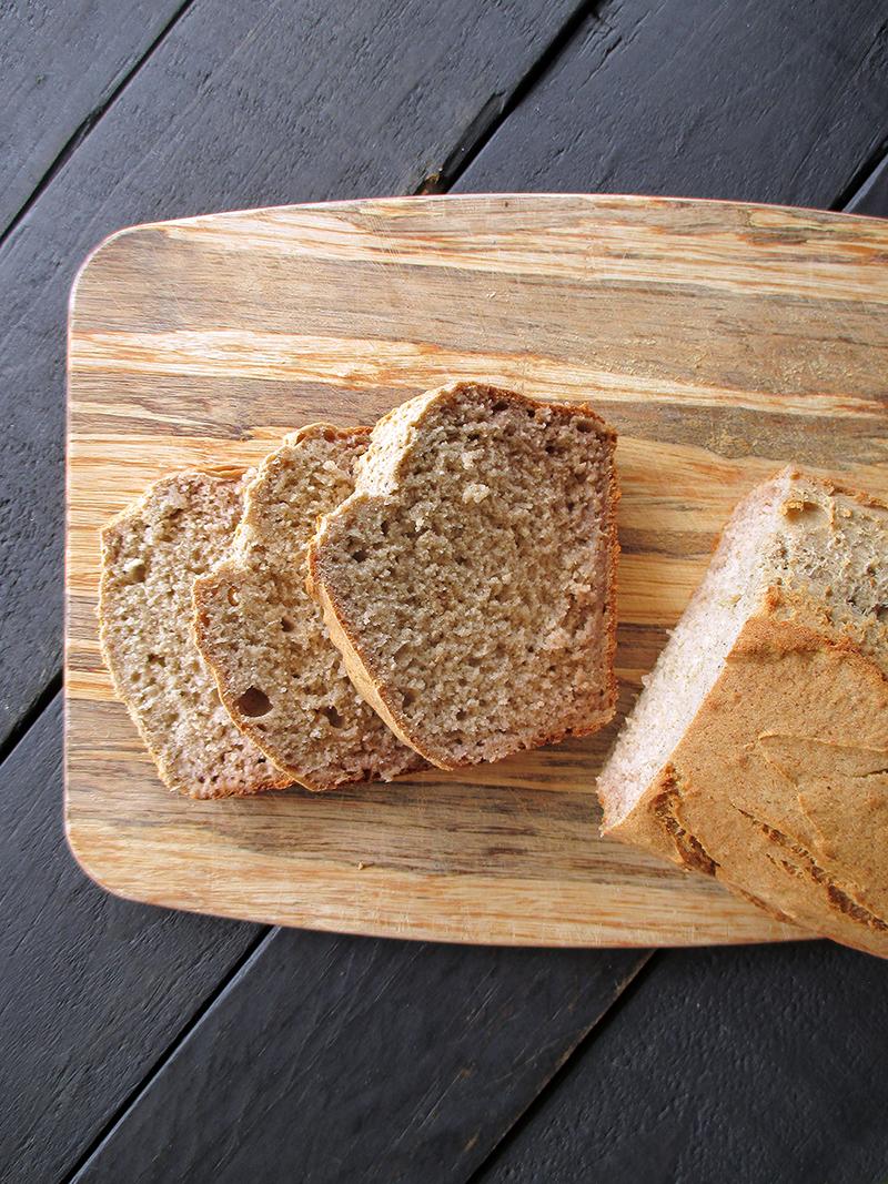Einfaches Veganes Glutenfreies Bananebrot Ohne Zucker Ohne Oel Rezept 5