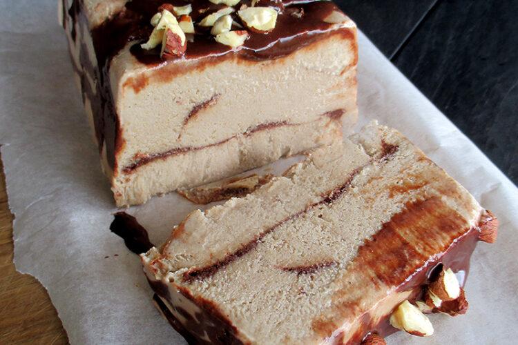 Vegane Glutenfreie Haselnuss Semifreddo Eiscreme Ohne Zucker Ohne Milch Rezept 3 1