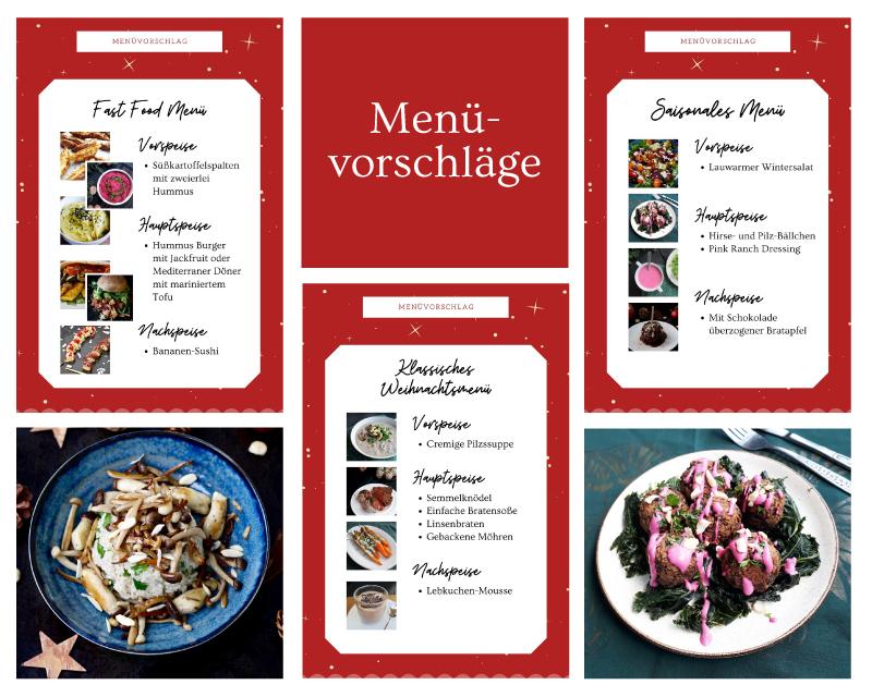 Vegane Weihnachten Ebook Mit Ueber 80 Veganen Glutenfreien Rezepten Ohne Haushaltszucker Kategorien Menu Vorschlaege