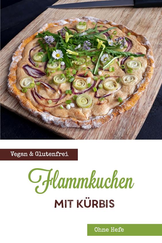 Veganer Glutenfreier Pizza Flammkuchen Ohne Hefe Ohne Milch Rezept P2