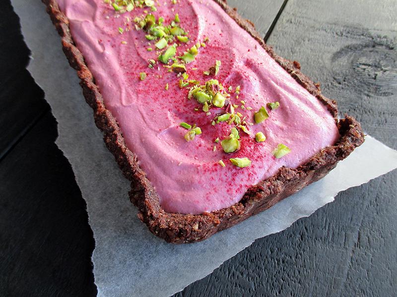 Vegane Glutenfreie Nix Backen Fruchtgesuesste Himbeer Schoko Torte Rezept 2