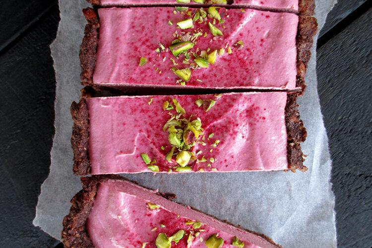 Vegane Glutenfreie Nix Backen Fruchtgesuesste Himbeer Schoko Torte Rezept 3 1